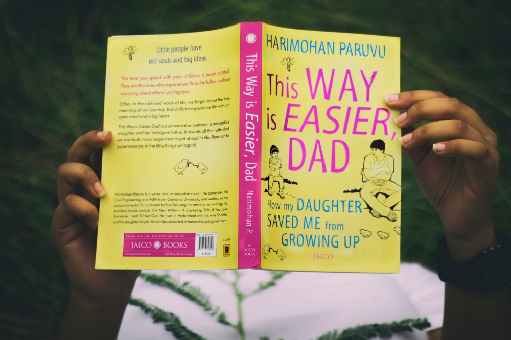 This Way Is Easier, Dad Harimohan Paruvu Book