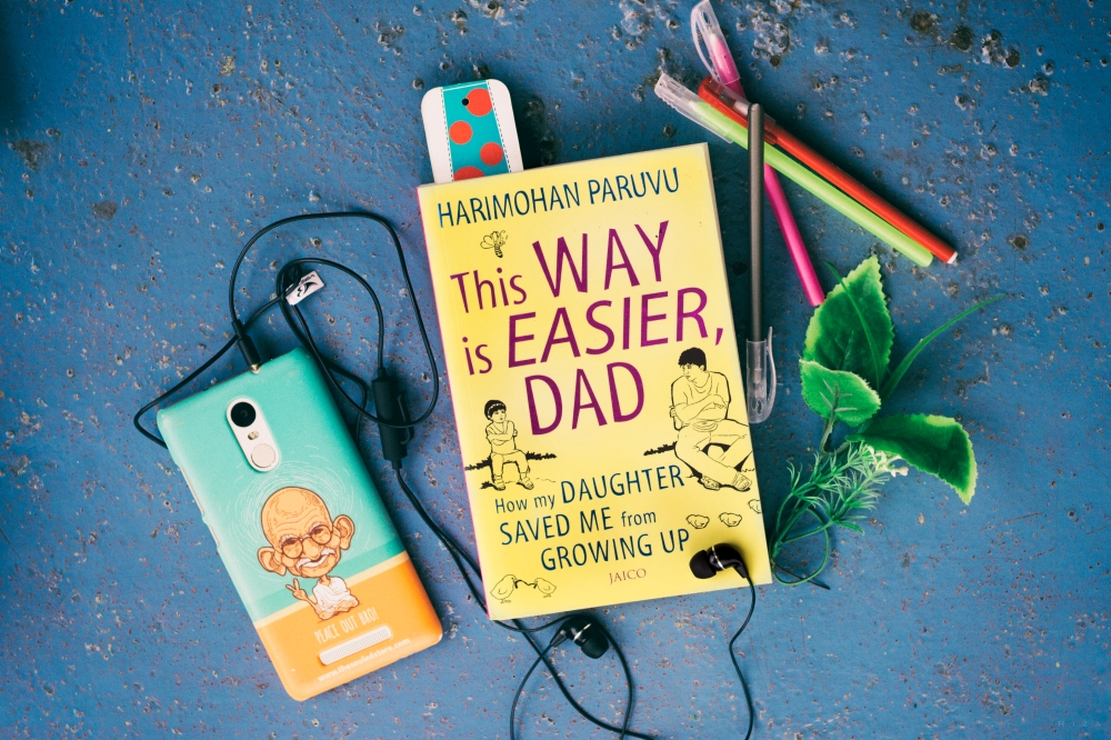 This Way Is Easier, Dad Blogger Author Harimohan Paruvu Book