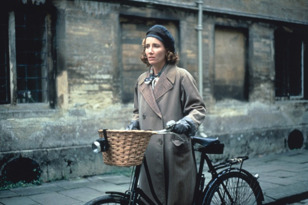 Emma Thompson as Miss Kenton in the movie adaptation of the Remains of the Day