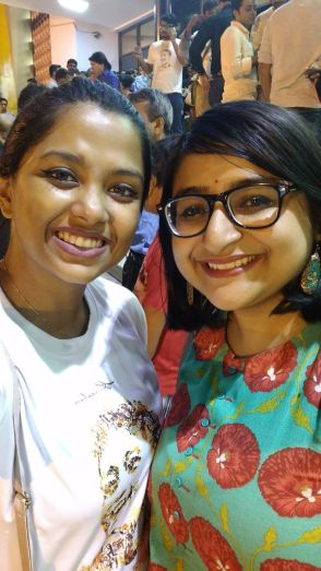 Anumita and yours truly at the Screening!
