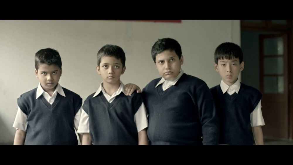 Child actors Doi, Beeley, Bheto and Kancha from Biler Diary movie 2017
