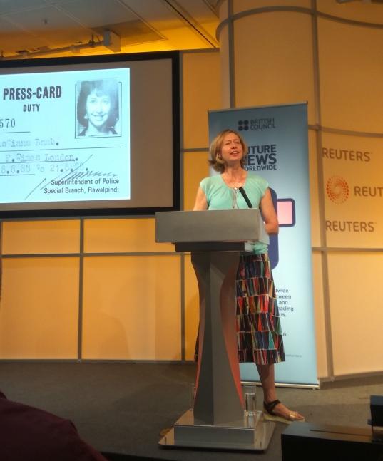 Christina Lamb, war corrspondent