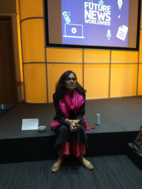 Ritu Kapur, co-founder of The Quint